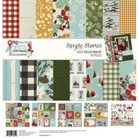 Simple Stories - Collection Kit - 12 X 12 - Winter Farmhouse (WTR11600)