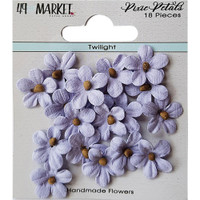49 and Market - Flowers Pixie Petals 18/Pkg - Twilight (49PP 89142)