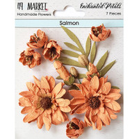 49 and Market - Flowers Enchanted Petals 7/Pkg - Salmon (49EP 89050)