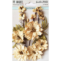 49 and Market - Flowers Garden Petals 12/Pkg - Parchment (49GP 88930)