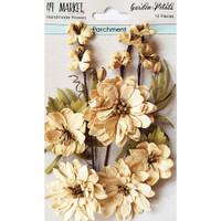 49 and Market - Flowers Garden Petals 12/Pkg - Parchment (49GP 88930)