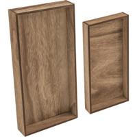Tim Holtz Idea-Ology Wooden Vignette Trays 2/Pkg (TH93568)
