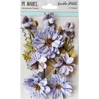 49 and Market - Flowers Garden Petals 12/Pkg - Twlight (49GP - 88985)