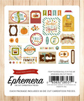 Echo Park - Ephemera Cardstock Die-cuts - Fall is in the Air (FA112024)