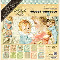 "Graphic 45 - Deluxe Collector's Edition Pack 12""x12"" - Little Darlings (G4501614)"