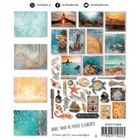Studio Light - Paper Elements Set - #649 Ocean View (EASY649)