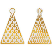 Couture Creations - Dimensional Decorations Cut, Foil & Emboss Dies - Tree Bauble (CO727012)