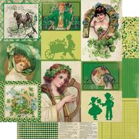 Authentique - Calendar Collection 12x12 3/Pkg - March (CAL-051)
