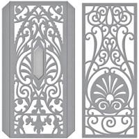 Spellbinders Shapeabilities Dies By Becca Feeken - Decorative Edges & Spines (S41031)