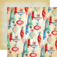 Carta Bella - A Very Merry Christmas 12x12 Cardstock - Christmas Bells (CBVMC72004)