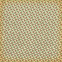 Carta Bella - A Very Merry Christmas 12x12 Cardstock - Dainty Ornaments (CBVMC72009)