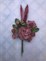 Blue Fern Blooms - Opera Rose (851988)