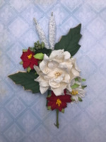 Blue Fern Blooms - Christmas Bouquet (817786)