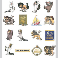 Paper House - Self-Adhesive Die-Cuts 36/Pkg - Where The Wild Things Are (STDC0020)