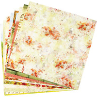 """Ciao Bella - 12""""X12"""" Double-Sided Patterns Pad 7/pkg - Under the Tuscan Sun"""