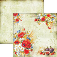 Ciao Bella - 12x12 Double-Sided Cardstock - Under the Tuscan Sun - Wildflower (CBSS101)