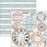 Ciao Bella - 12x12 Double-Sided Cardstock - Sound of Summer - Summer Time (CBSS107)
