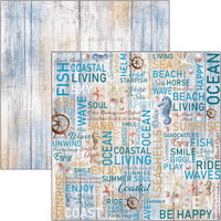 Ciao Bella - 12x12 Double-Sided Cardstock - Sound of Summer - The Voice Of The Sea (CBSS108)