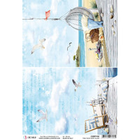 Ciao Bella - Decoupage Rice Paper Sheet - Find Your Happy Place (CBRP106)
