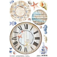 Ciao Bella - Decoupage Rice Paper Sheet - Summer Time (CBRP107)