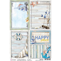 Ciao Bella - Decoupage Rice Paper Sheet - Summer Cards (CBRP108)