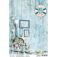 Ciao Bella - Decoupage Rice Paper Sheet - Coastal Living (CBRP109)