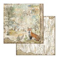 Stamperia - Double-Sided Cardstock Collection 12x12 - Forest (SBBL63)