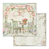 Stamperia - Double-Sided Cardstock Collection 8x8 - House of Roses (SBBS08)