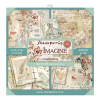 Stamperia - Double-Sided Cardstock Collection 12x12/22Pkg - Imagine (SBBXL04)