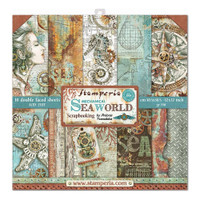 Stamperia - Double-Sided Cardstock Collection 12x12 - Sea World (SBBL64)