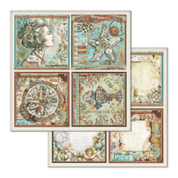 Stamperia - Double-Sided Cardstock 12x12- Sea World (SBB666)