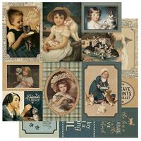 Authentique - Paper Collection Kit 12x12 - Purebred - #7 Cat Cut Aparts (PUR12 - 007)
