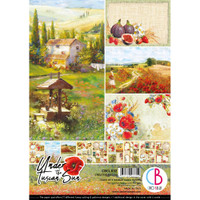 Ciao Bella - A4 Creative Pack 9/Pkg Double-Sided - Under the Tuscan Sun (CBCL032)
