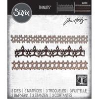 Sizzix - Tim Holtz - Thinlits Dies - Crochet #2 (664413)