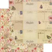 Prima Frank Garcia - Double sided 12x12 Paper w/Foil Accents - Capri - Arco Naturale (995928)