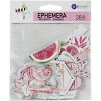 Prima- Ephemera 38/Pkg- Surfboard - Shapes, Tags, Words, Foil Accents (645212)