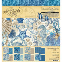 Graphic 45 - Collection Pack 8x8 - Ocean Blue (G4502015)