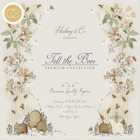 Craft Consortium - Double Sided Paper Pack 6x6 - Tell The Bees (PPAD005B)