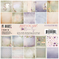 """49 and Market - Scrapbooking Paper Pack 8""""X8"""" - Irrevocable Beauty Collection ( IB32518)"""