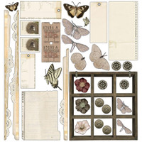 49 and Market - Scrapbooking Paper Pack 12x12 - Vintage Artistry Natural Collection (VAC32167)