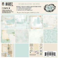 "49 and Market - Scrapbooking Paper Pack 6""X6"" - Vintage Artistry Sky Collection (VAC32532)"