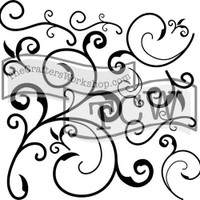 The Crafters Workshop - 6x6 Template Stencil - Mini Capricious (TCW 124s)