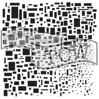The Crafters Workshop - 6x6 Template Stencil - Mini Cubist (TCW 248s)