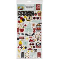 Echo Park - Chipboard Accents 6x13 - Remember The Magic (EM208021)