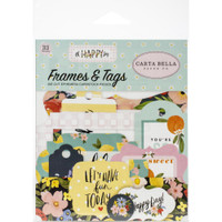 Carta Bella - Tags and Pockets 33/Pkg - Oh Happy Day Spring (HD112025)