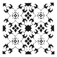 The Crafters Workshop - 12x12 Template Stencil - Poppy Grid (TCW874)