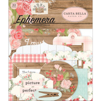 Carta Bella - Ephemera 33/Pkg - Farmhouse Market (AR113024)