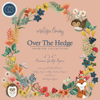Craft Consortium - Double Sided Paper Pack 6x6 - Over The Hedge (PPAD012B)
