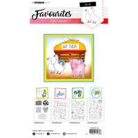 Studio Light - Favourites A5 Stamps  - Cling Stamp - Pet Life #424