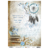 Studio Light Jenine's Mindful Art - Decoupage Rice Paper A4 - NR. 07 (RICEM07)